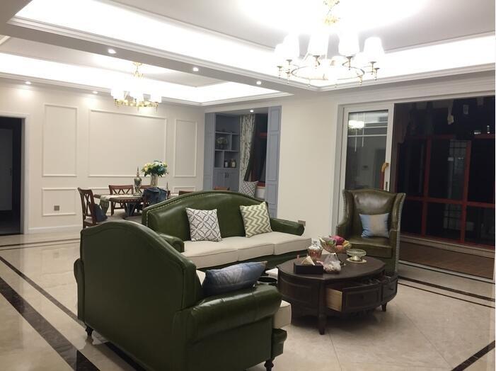四居室混撘美式装修设计