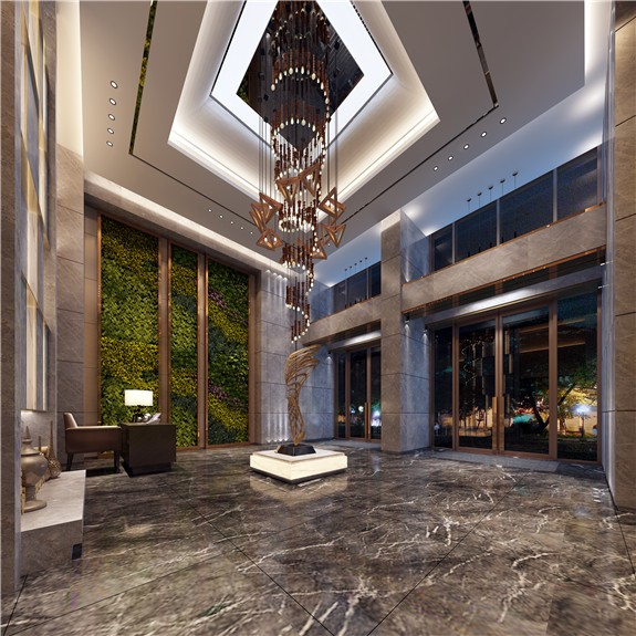 重庆观音桥比柏酒店装修设计效果