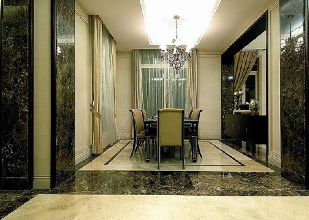 重庆渝北别墅装饰-古典风格装饰设计效果图