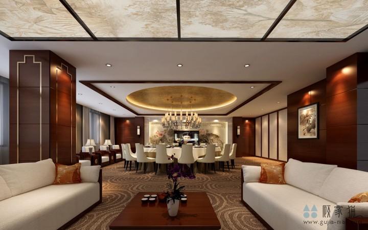 湖南广东商会办公楼装修设计
