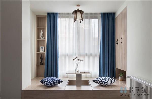 长沙奥林匹克花园北欧风格三居室装修设计