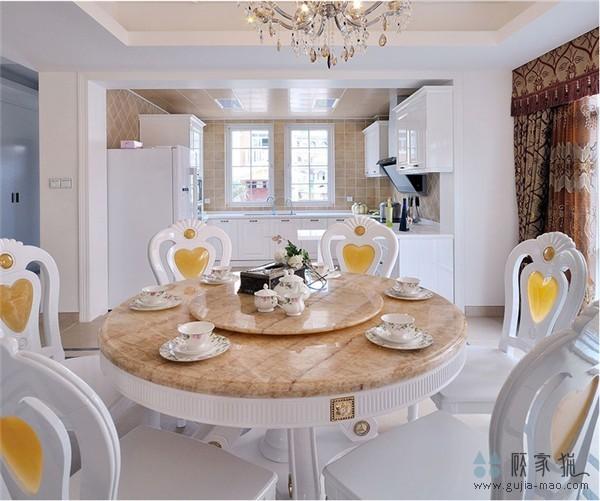 长沙澳海澜庭简欧风格家庭装修设计