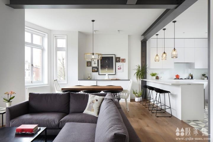 五居室二手房翻新效果图 二手房翻新案例欣赏