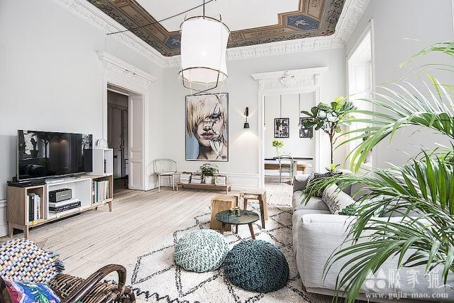 113平米的北欧老式公寓改造  老式公寓装修设计效果图