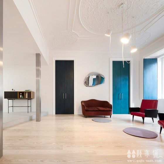 120平米简约风格公寓装修效果图  120平米的改造简约公寓