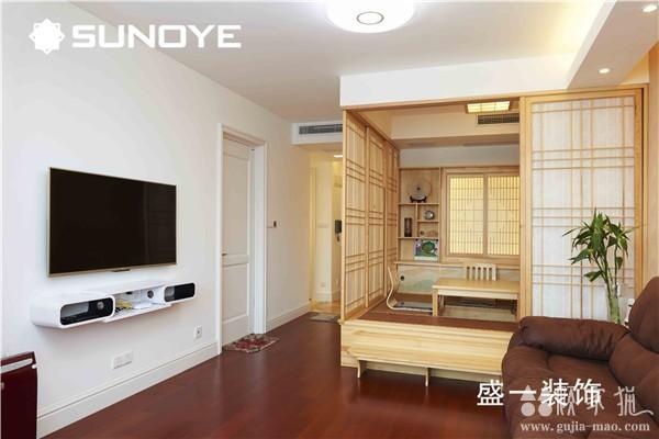 清新自然的一居室装修设计 现代风格小户型装修