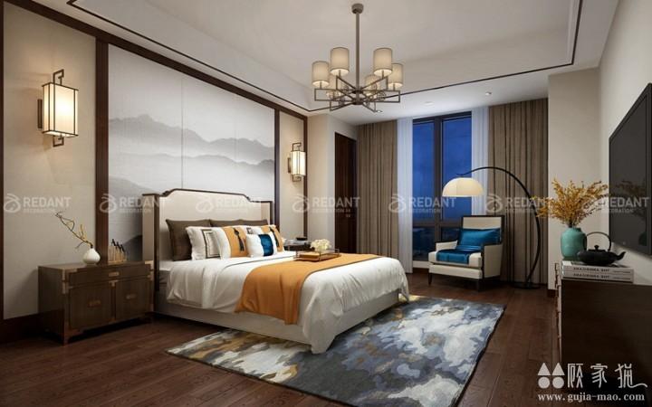 石湖桃花源 | 310平米新中式风格装修设计效果图