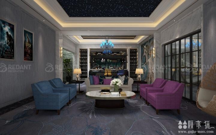 佳和云筑丨250平米美式风格家庭装修设计