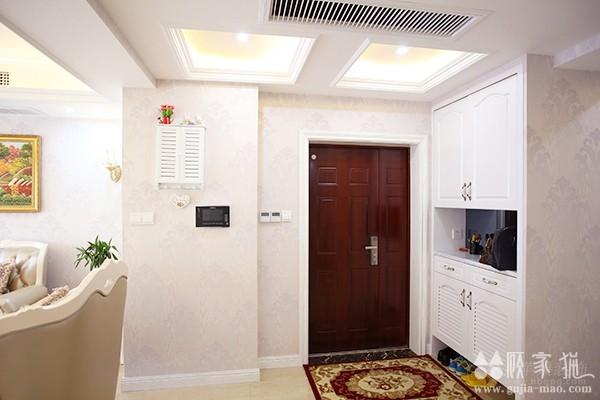 罗曼风情128平简欧风格装修设计  简欧风格家庭装修