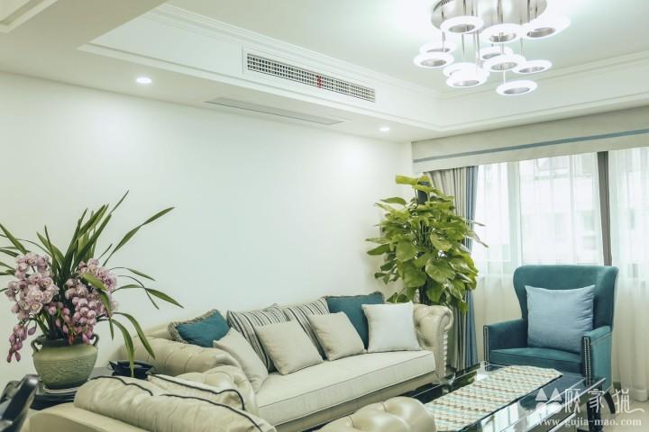 宁波新大世界小区现代风格装修设计案例