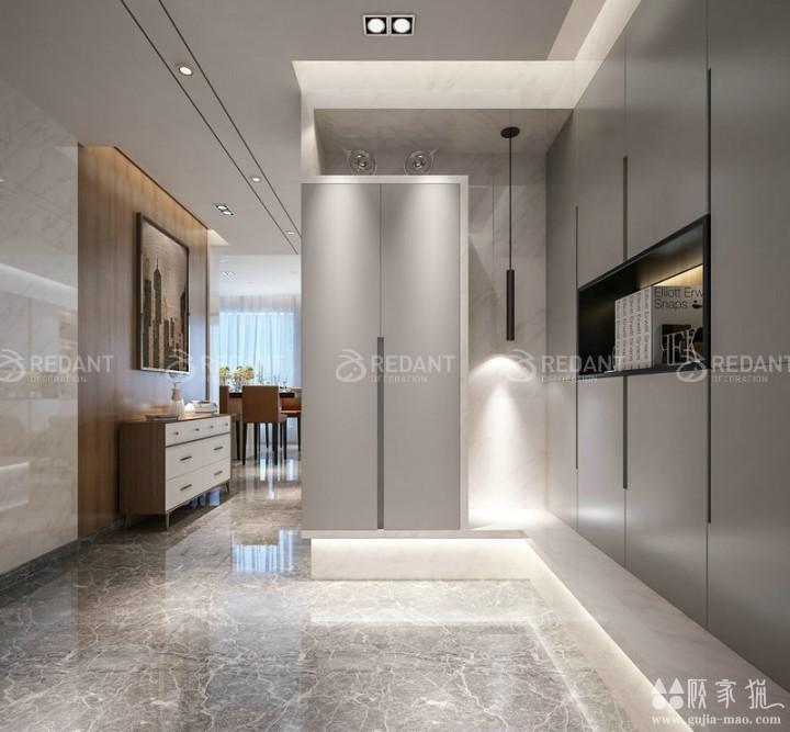 优步水岸 丨 150平米现代风格家庭装修设计案例