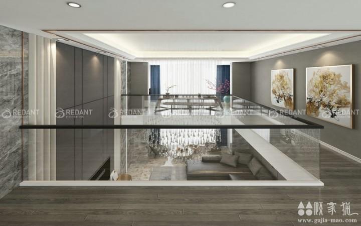 尚城花园 丨 200㎡现代风格家庭装修设计效果图