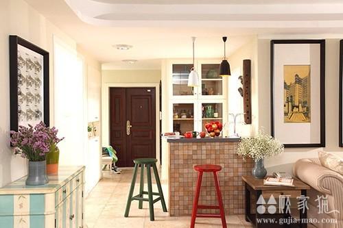 天水家园混搭风格装修设计  混搭风格家庭装修效果图