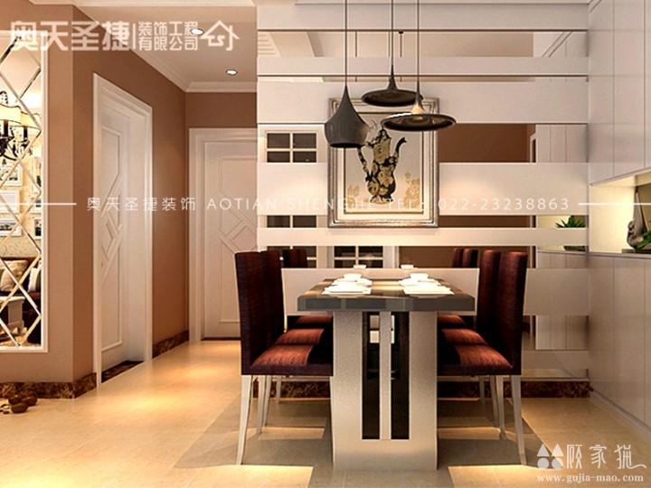 金隅悦城95㎡两居室现代简约风格装修设计