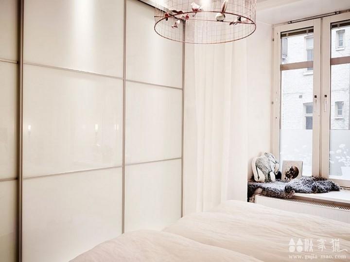纹理突出的北欧现代公寓装修  北欧风格家庭装修效果图