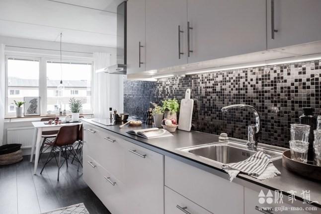 灰底精致北欧公寓装修设计 北欧风格家庭装修案例