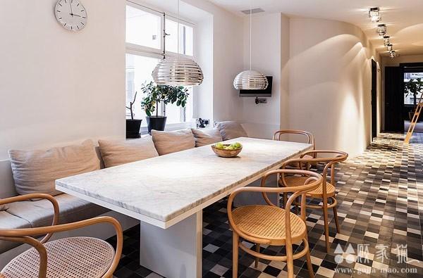舒适高品位的北欧奢华公寓装修  奢华北欧风格装修案例