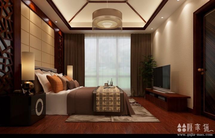 锦绣山城-中式风格家庭装修案例欣赏