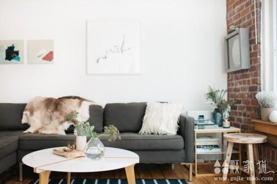 工业风格温馨公寓 工业风格装修设计效果图