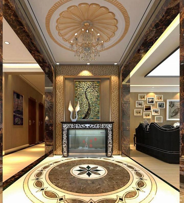 复地东山平层别墅装修设计  220㎡现代风格别墅装修效果图