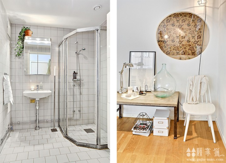 42平米简约单身公寓装修  简约风格单身公寓装修设计