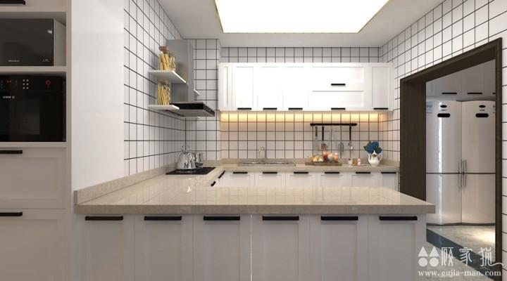 公园伍号210㎡现代风格家庭装修设计效果图