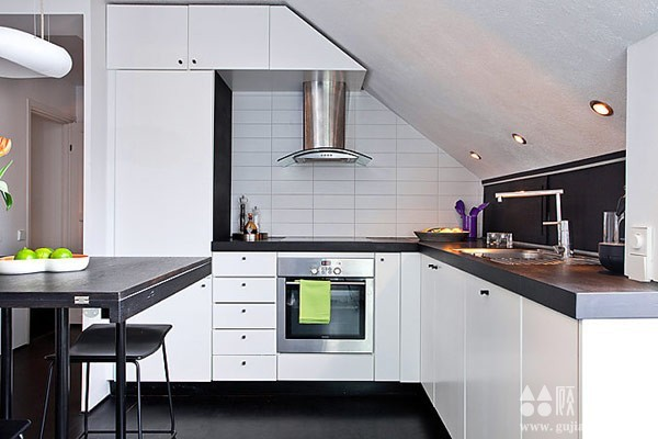 北欧54平米完美布局公寓  54平米北欧风格家装