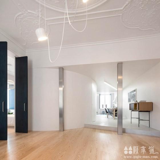 120平米的简约风格公寓改造  120平米简约风格装修