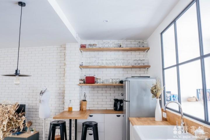 57平米小两口两居室装修设计  小户型装修效果图欣赏