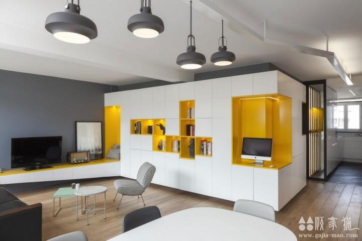 现代单身精致公寓装修设计  现代风格单身公寓装修