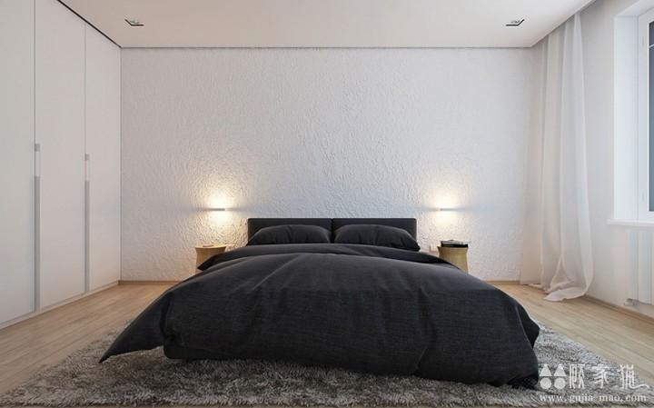 极简木质公寓装修设计  木质元素家庭装修效果图