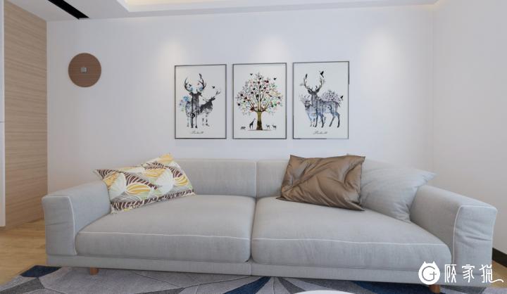 新浦职院家庭装饰设计  全屋装修效果图