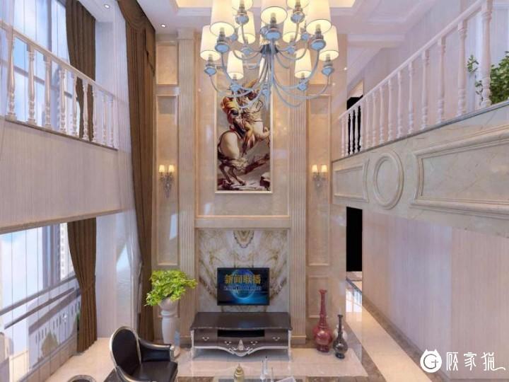 大新桥别墅装修设计 现代风格别墅装修设计效果图