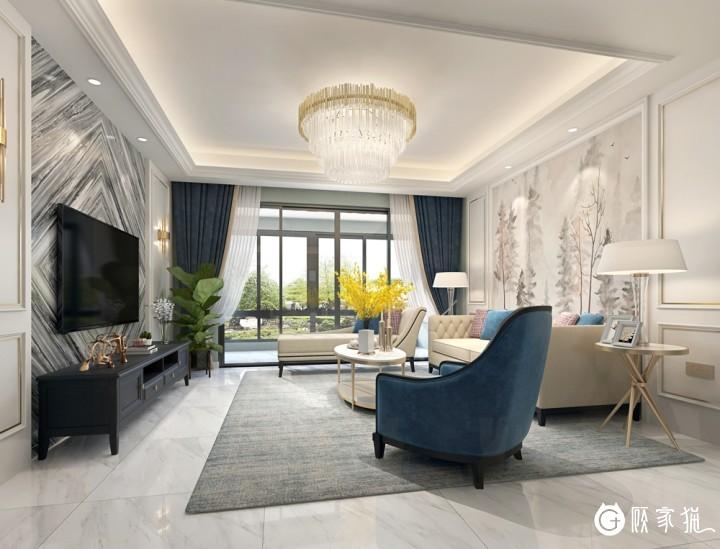 梵高先生家装设计案例  家庭装修设计效果图欣赏