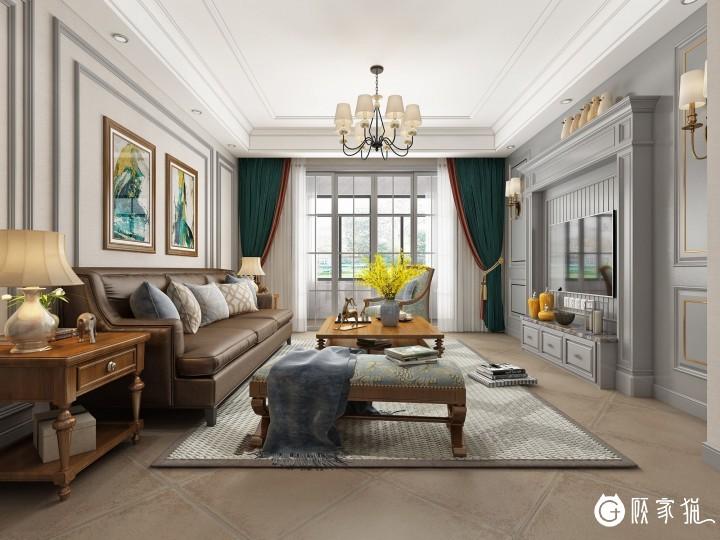 【江油顶峰装饰装修有限公司】美式风格在装饰上比较单一,但在家具上延续了欧洲家具的风格。