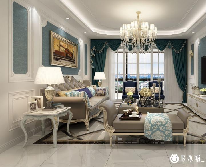 创新装饰室内装饰设计 美式风格家装案例