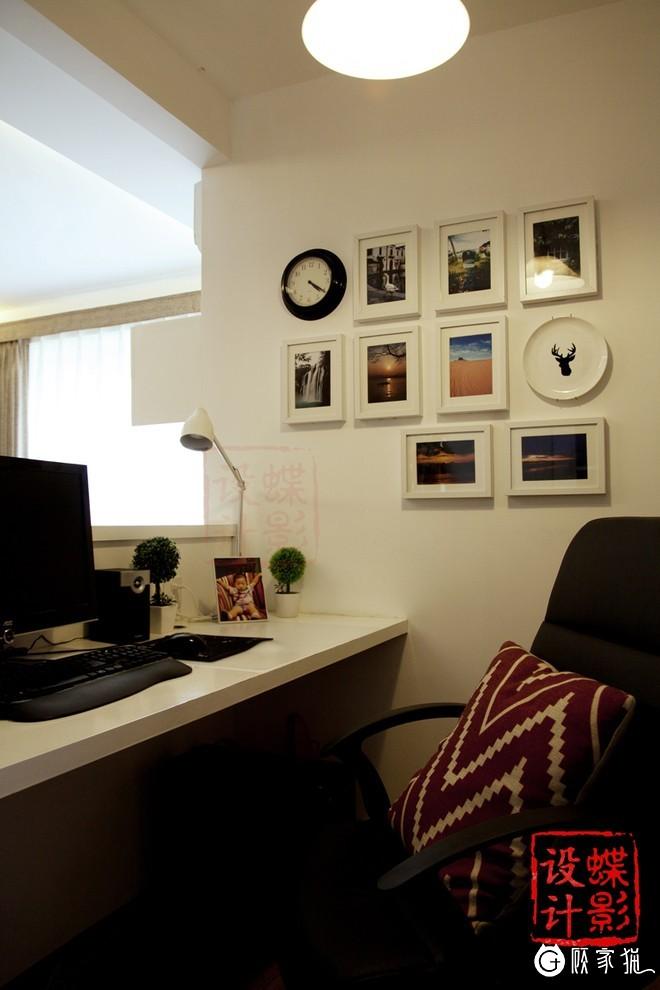 """安尔意装饰120平米现代简约""""建筑师之家"""" 室内装饰案例"""