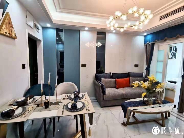 泰利装饰现代化三居室内装饰设计 简约风格家装案例