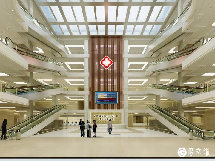 华和装饰安徽省铜陵人民医院室内装饰案例