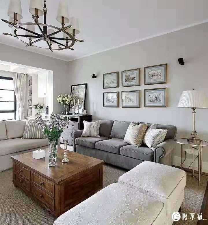 铭宸装饰白色简约风格 室内装饰案例