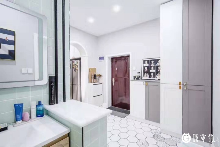 铭宸装饰现代简约风格 白色住宅室内装饰案例