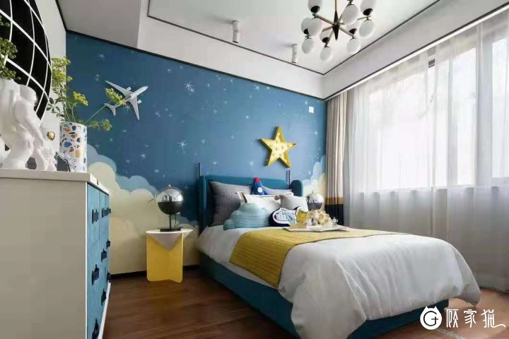 铭宸装饰现代化风格 时尚公寓室内装饰案例