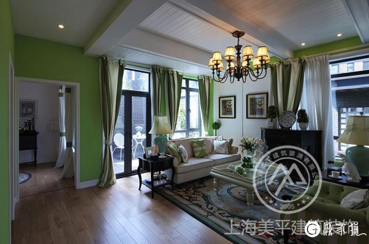 110㎡东南亚装修风格效果图 嘉兴三居室东南亚风格装修设计