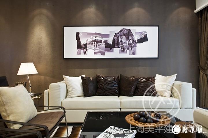 129㎡现代简约装修风格效果图  嘉兴现代简约风格三房装修设计
