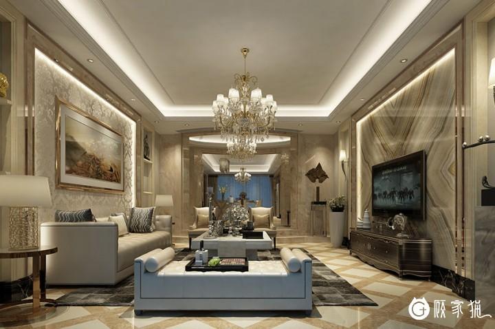 260㎡5居室新中式装修设计效果图