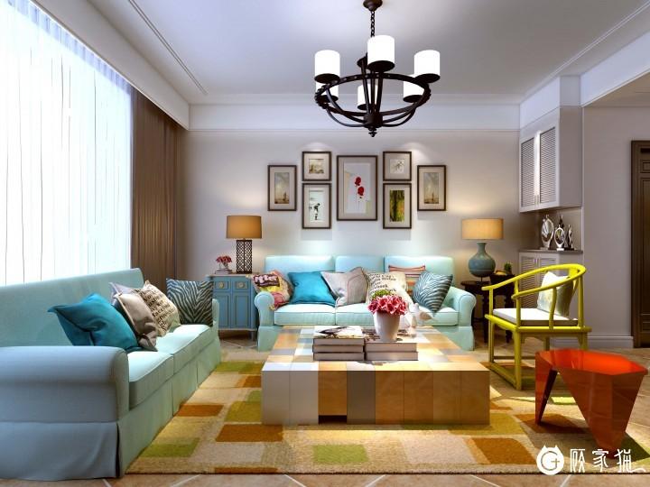 麓山国际四居室现代简约装修  成都112平米现代简约装修效果图