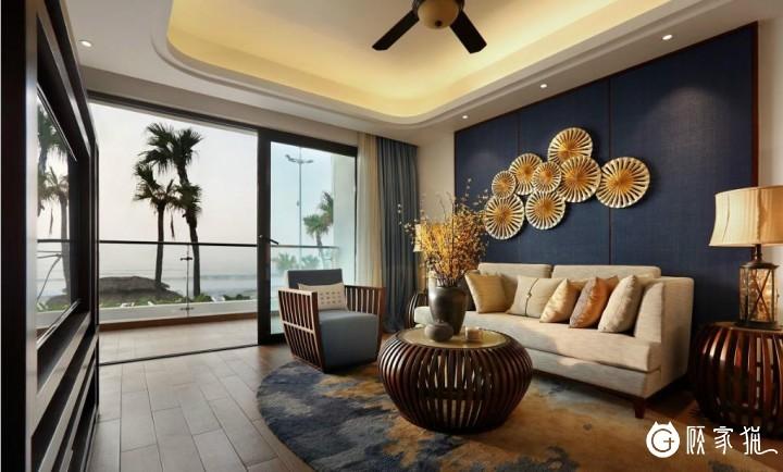 5.9万打造70㎡ 新中式风格的家