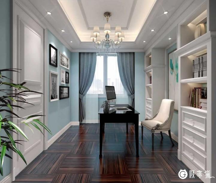 轻简约美式装修效果图 天津简约美式风格家庭装修