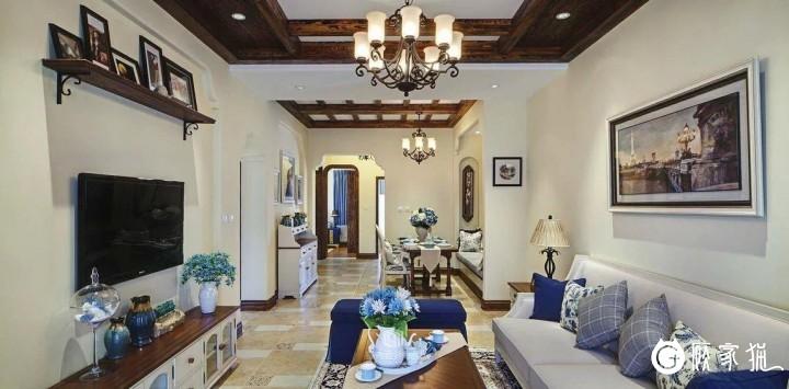 地中海风格装修效果图  天津地中海风格家庭装修设计