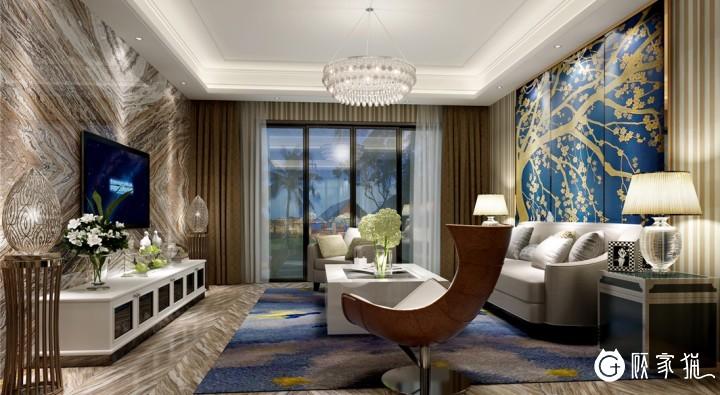 台州简约风格装修设计案例  简约风格家庭装修效果图